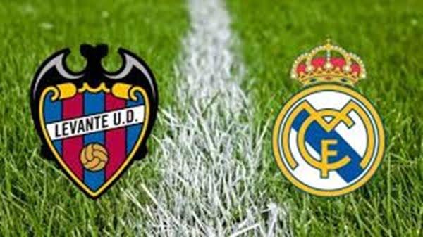 مباراة ريال مدريد وليفانتي بث مباشر في الدوري الاسباني
