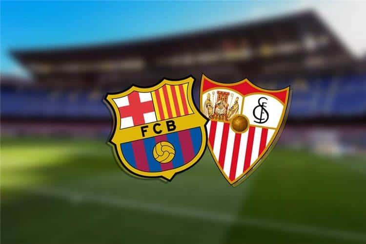 موعد مباراة برشلونة واشبيلية اليوم الأحد 27/2/2021 في الدوري الإسباني