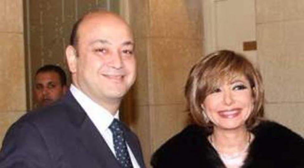 أول تعليق من لميس الحديدي بعد نجاة عمرو أديب من حادث سير